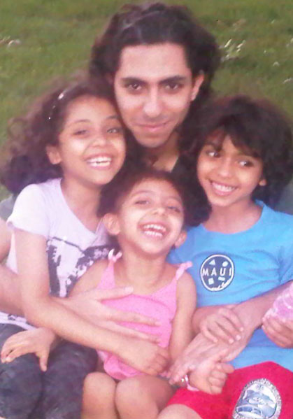 Raif Badawi and Children
