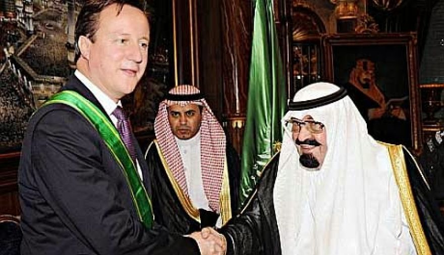 Did the UK do a secret deal with Saudi Arabia on human rights?