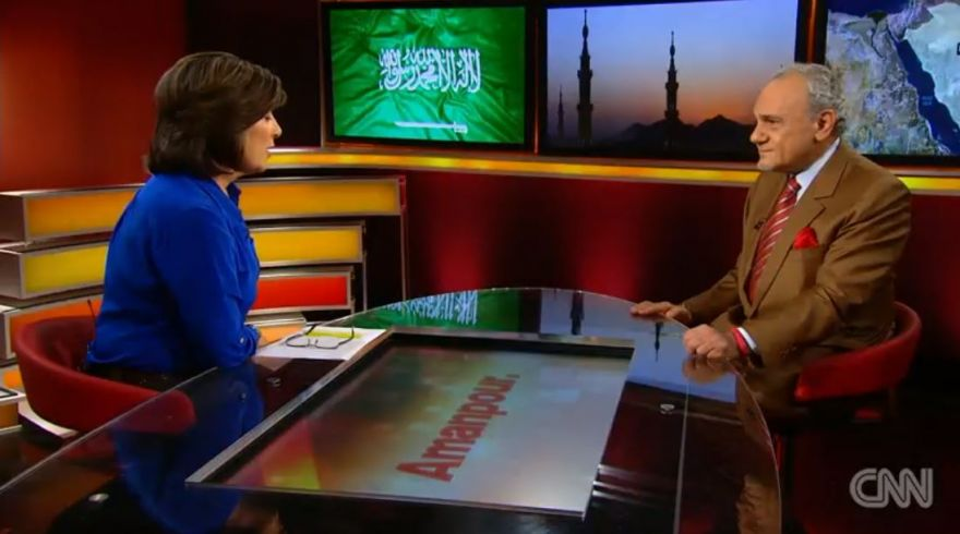 Former Saudi Intelligence Chief talks to CNN about lashed blogger Raif Badawi