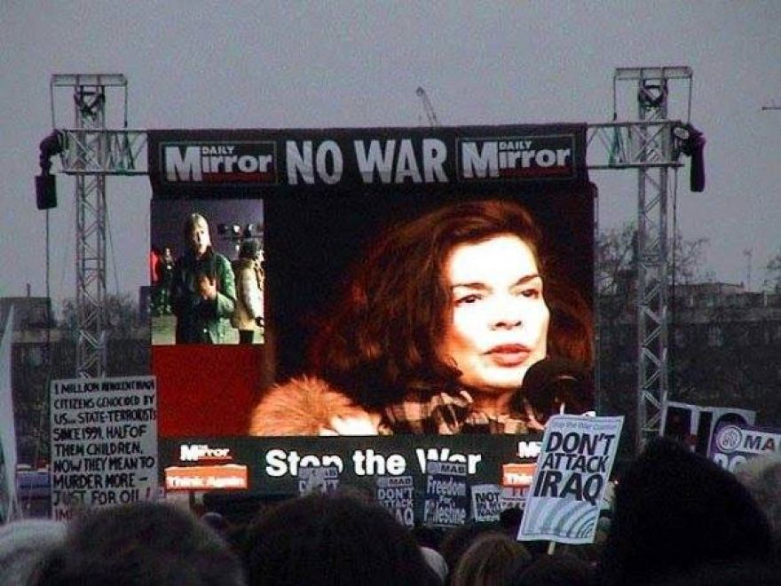 Bianca Jagger, President and Chief Executive, Bianca Jagger Human Rights Foundation