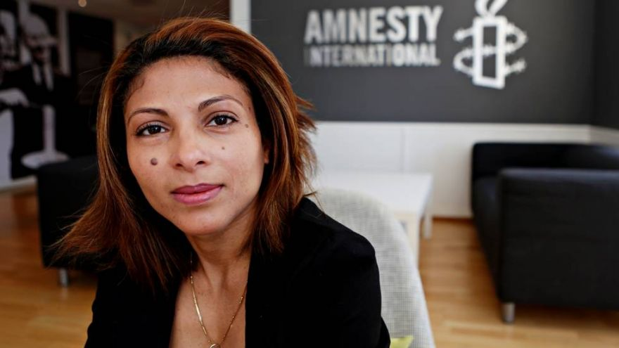 He is jailed and tortured in Saudi-Arabia. She campaigns to free him. Meet the wife of Raif Badawi.