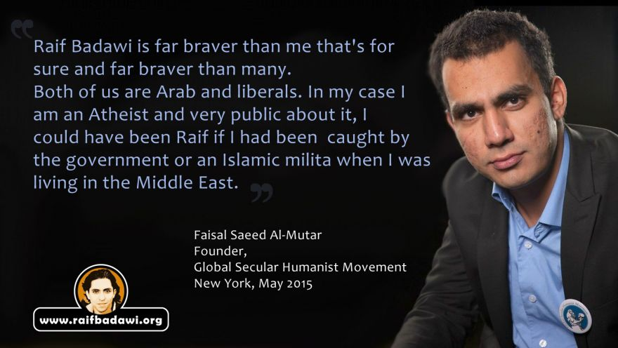 Faisal Saeed Al-Mutar - on Raif Badawi