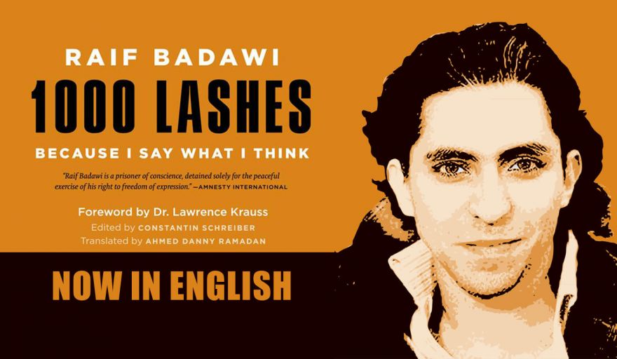 Raif's Book - '1000 Lashes - Because I Say What I Think' - Now in English
