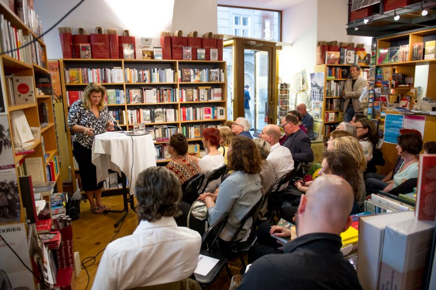 Raif Book Reading in Vienna